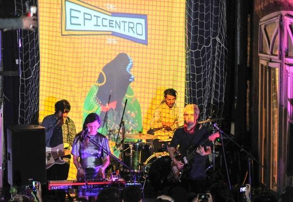 Buen comienzo. Dënver fue el plato fuerte de la actividad de presentación de Epicentro 2015. Jose Cordero