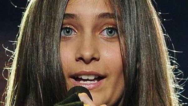 Paris Jackson, hija del fallecido rey del pop, Michael Jackson. Archivo