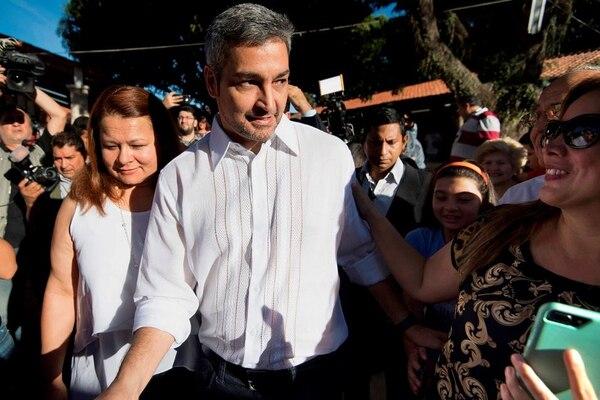 Mario Abdo Benítez es el nuevo presidente de Paraguay. Foto: AFP