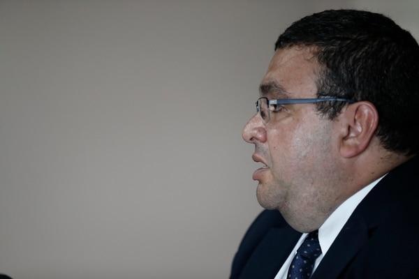 El viceministro de Ingresos, Fernando Rodríguez Garro.