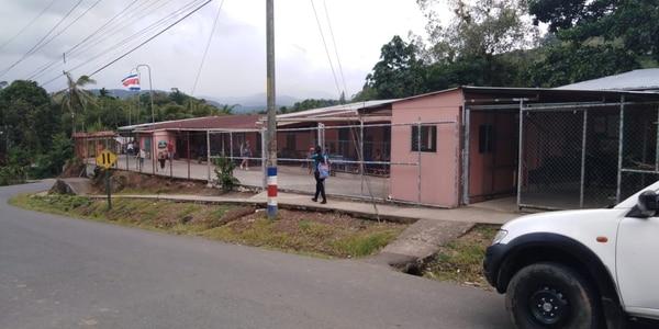 La Escuela María Auxiliadora, en Las Vueltas de Tucurrique, tiene 135 alumnos. Foto suministrada por Fernando Gutiérrez