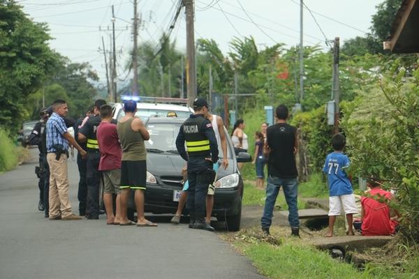 El asalto ocurrió pasadas las 11 a. m., en Pococí. | REINER MONTERO.