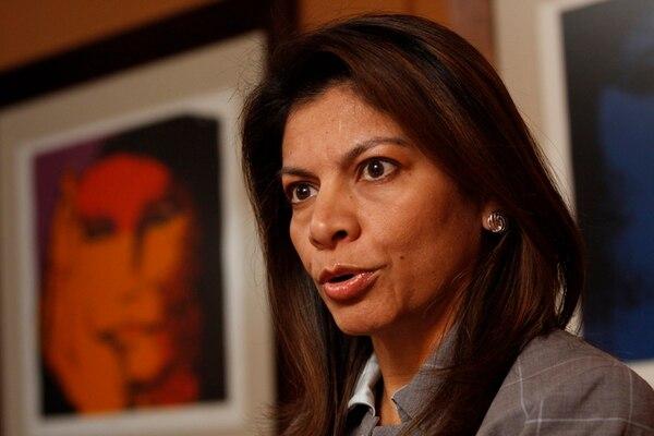 La presidenta Laura Chinchilla asistirá a las protestas contra Daniel Ortega en Guanacaste, este jueves. Su decisión generó críticas en la oposición representada en la Asamblea Legislativa.