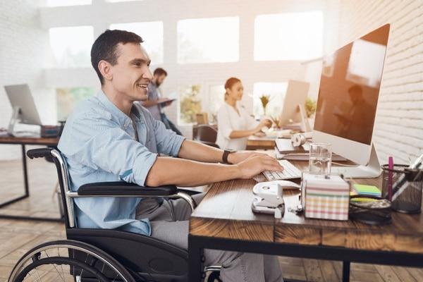 El 5,3% de las mipymes encuestadas indicó contar con personas con alguna discapacidad dentro de sus empleados. (Imagen ilustrativa) Foto: Shutterstock
