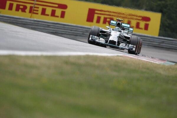 El piloto de Mercedes Nico Rosberg consiguió imponerse en el Gran Premio de Austria con un tiempo de 1h:27:54.976.