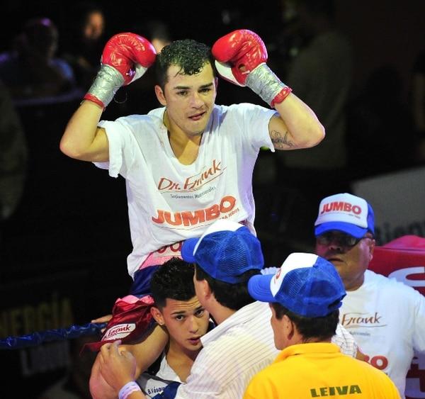 Vásquez ganó su título interino en noviembre del año pasado. | ARCHIVO