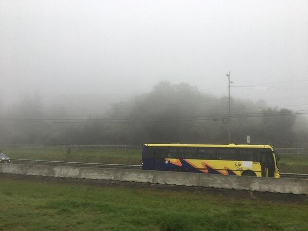Bus de transporte público.