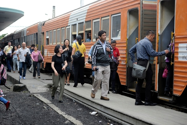 Desde su instauración –en el año 2005– la demanda del servicio de tren ha crecido aceleradamente. | GRACIELA SOLIS