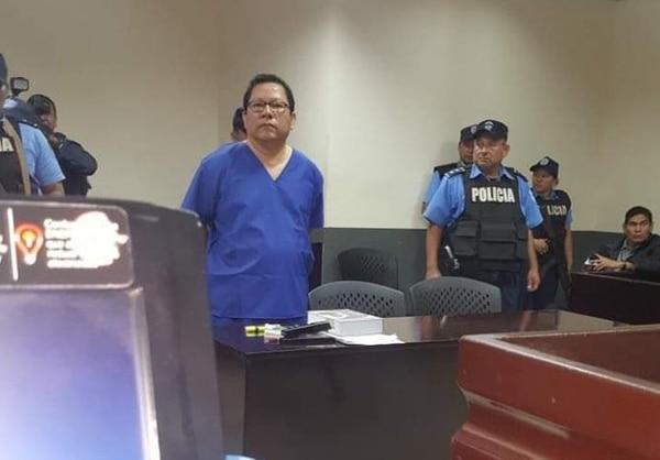 Mora permanece en prisión preventiva en El Chipote. Su paradero se conoció el sábado 22 de diciembre, cuando apareció con ropa de preso y declarando ante un juzgado en Managua. Foto: Tomada del Twitter del Canal 100% Noticias
