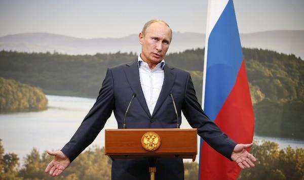 Vladimir Putin, presidente de Rusia. / AFP