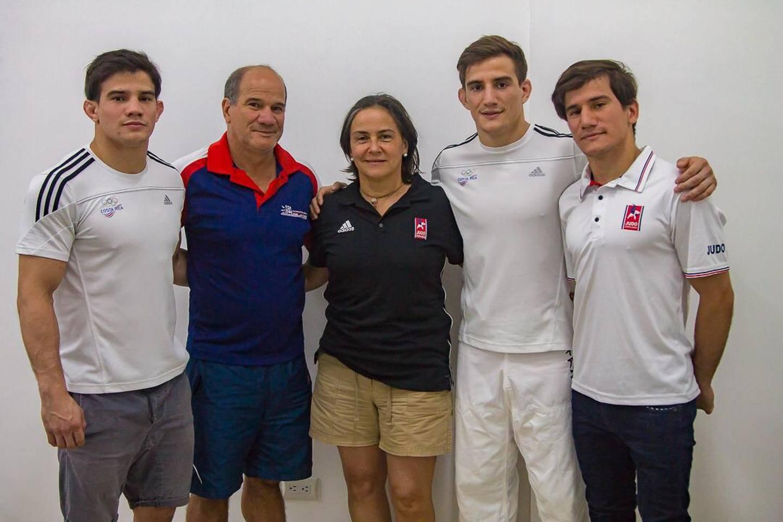 Ian Ignacio Sancho, judoca que participará en los Juegos Olímpicos. Cortesía.