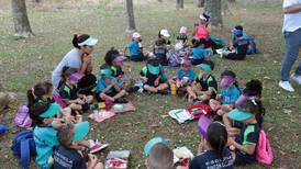 Pequeñines llenaron a Parque Viva de color y alegría