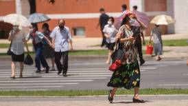 Ola de calor azota capital de Corea del Norte