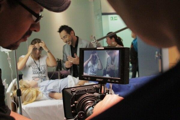 Talento conocido.Humberto Canessa (al fondo) tiene un papel antagónico en la miniserie.Alejandro guerrero para LN