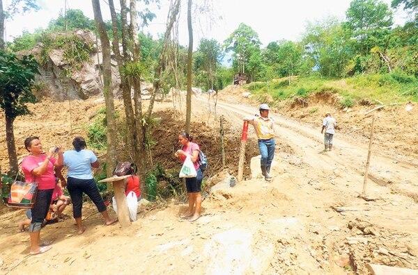 El tajo Asunción enfrenta la oposición de vecinos y del Sindicato de Trabajadores de Japdeva (Sintrajap). La obra está ubicada en el distrito de Matama, en Limón.