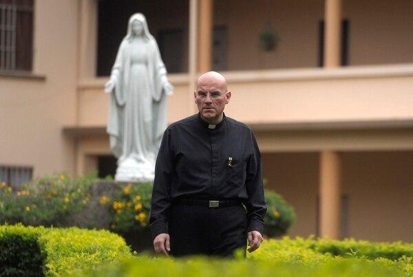 El Seminario Mayor, en Paso Ancho, fue casa y centro donde el padre Garita formó a futuros sacerdotes durante los últimos ocho años. | PABLO MONTIEL.