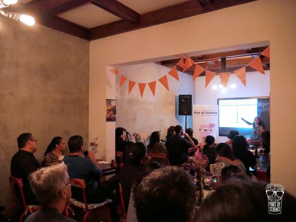 En el 2018, se celebró la primera edición de Pint of Science en Costa Rica. Foto: Pint of Science para LN.