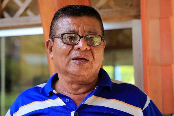 Daniel Leiva, líder comunal de Curré