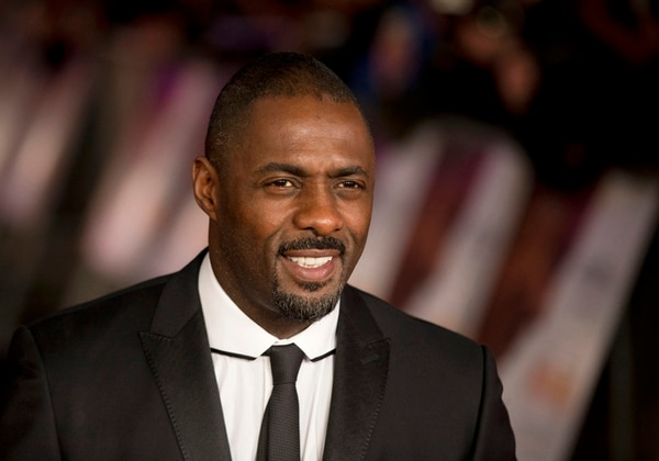 FILE- In this file photo photo dated Thursday, Dec. 5, 2013, British actor Idris Elba who plays Nelson Mandela in the movie