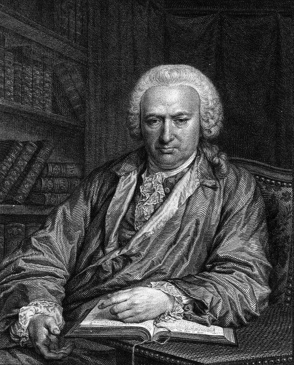 Retrato de Charles Bonnet.