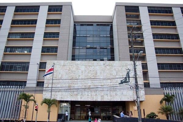 La sentencia tuvo lugar en los Tribunales de San José. Fotografia: Fabián Hernández