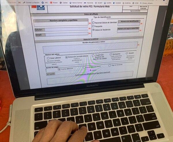 Las OPC tienen la prioridad de tramitar retiros del FCL mediante medios electrónicos, como medida preventiva contra el coronavirus. Foto: Óscar Rodríguez
