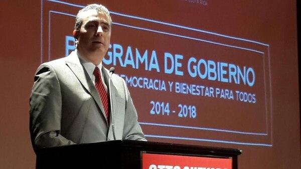 El candidato del ML, Otto Guevara, ve con optimismo la campaña y afirma que se enfocará en convencer al electorado de que es la mejor opción para gobernar a partir del 8 de mayo entrante.