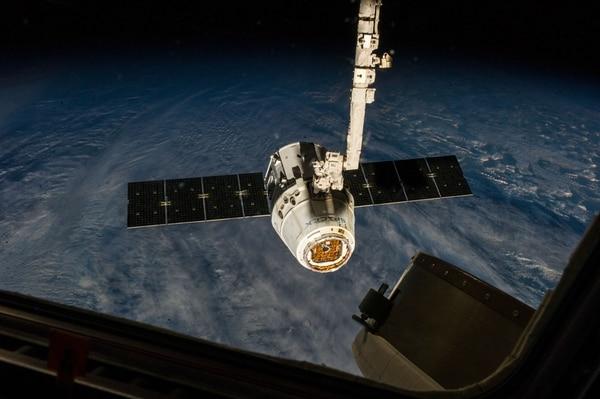 Esta es la quinta misión de SpaceX Dragon y su segunda visita a la EEI.