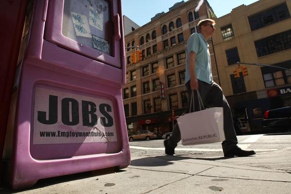 El anuncio sobre desempleo generó un caída en las bolsas de valores.