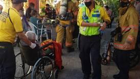 Bomberos atiende cortocircuito en hogar de ancianos de Sabana
