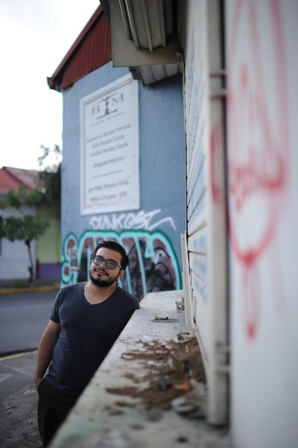 Kyle Boza es un hombre relajado, sin poses. Fotos: Jorge Navarro