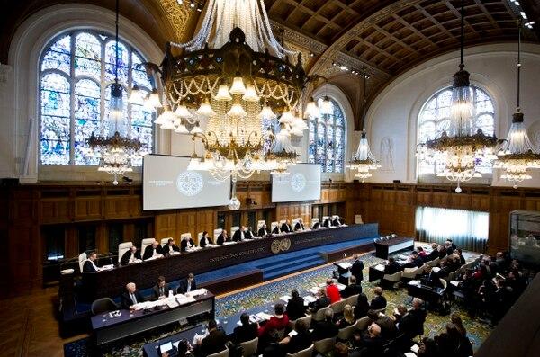 Este lunes comenzaron en la Corte Internacional de Justicia con sede en La Haya, Holanda, las audiencias orales del juicio internacional por la invasión nicaragüense a isla Calero y la construcción de la trocha fronteriza Juan Mora Porras-1856.