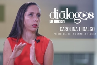 (Video) Diálogos con la presidenta de la Asamblea Legislativa Carolina Hidalgo