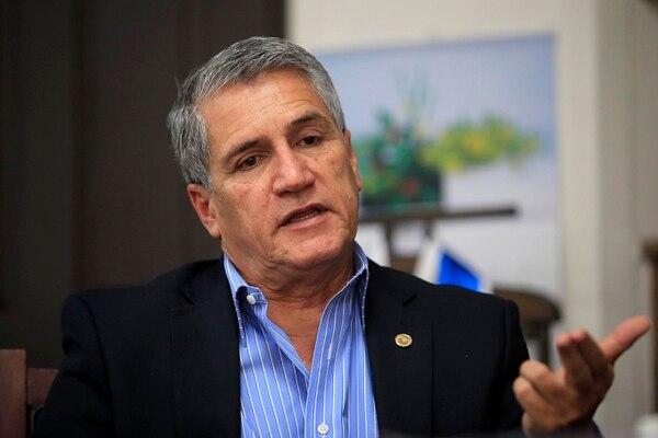29/06/2018 Sabanilla. Luis Guillermo Carpio Malavassi, rector de la Universidad Estatal a Distancia (UNED). Foto: Rafael Pacheco