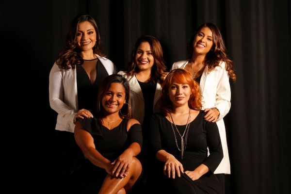 Las artistas de La Femme tienen amplias trayectorias en la escena costarricense, tanto en otras agrupaciones como en sus proyectos como solistas. Ahora unieron sus talentos para esta nueva propuesta musical. Foto: Mayela López.