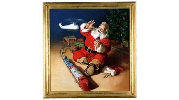Conforme cambió la imagen de Santa Claus, también evolucionaban los artículos que le acompañaban en las campañas, como los juguetes y su avance. Foto: Journey Coca-Coca