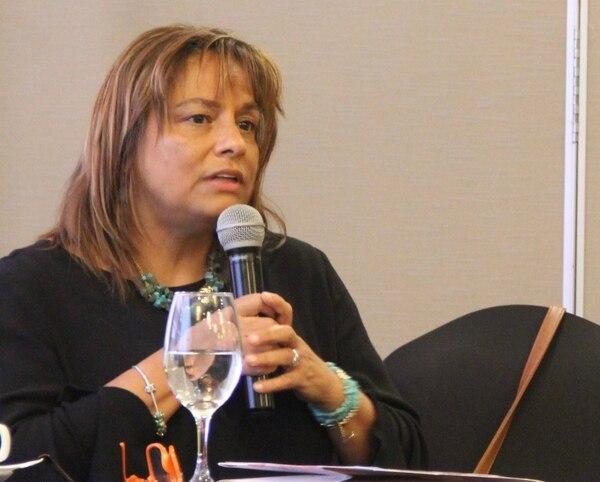 Katia Grosser, exdirectora de vida estudiantil del MEP. / Foto Archivo.