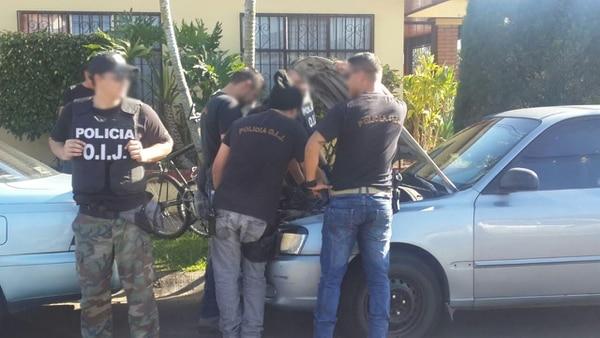 La acción policial se desarrolló en ocho puntos diferentes de San José y dio resultados positivos.