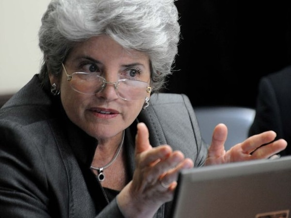 Rocío Aguilar, superintendenta General de Entidades Financieras. Foto: Jorge Castillo.