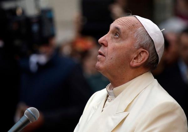 El papa Francisco criticó la economía carente de objetivo humano. | AP