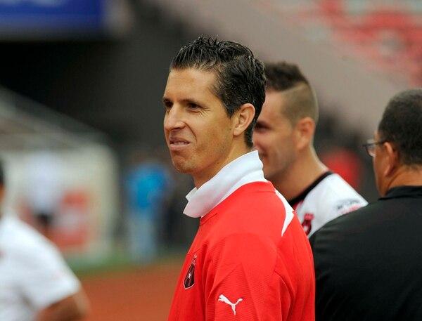 Pablo Gabas no pudo jugar en el Súper Clásico por una tendinitis pero estará listo para la Concacaf. | ALONSO TENORIO