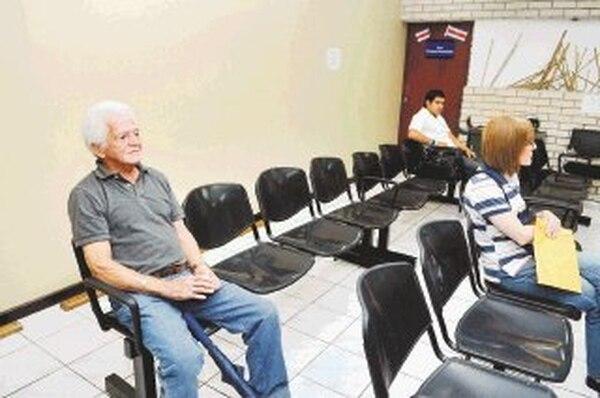 lsmael Rojas lamentó la lentitud de los trámites. | ALONSO TENORIO