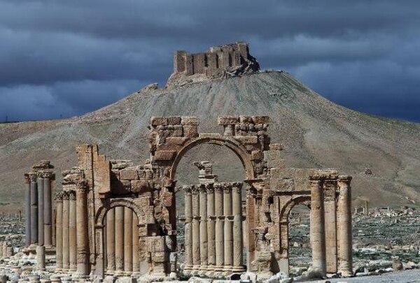 Palmira alberga las ruinas monumentales de una ciudad que fue uno de los más importantes centros culturales del mundo antiguo