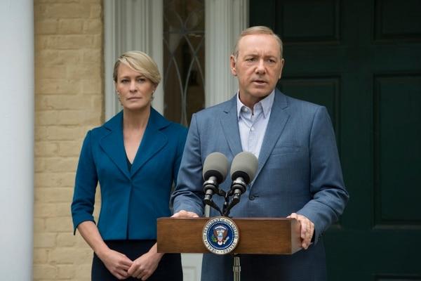 House of Cards está nominada por tercera vez consecutiva al Emmy por la mejor serie dramática.