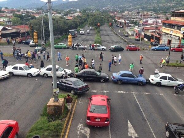 Así lucía a las 7 p. m. la Circunvalación. Las autoridades insisten en que se aplicarán los protocolos para garantizar el libre tráfico.