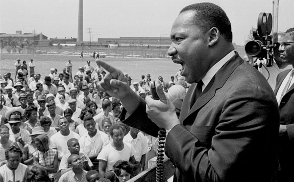 El documental 'I Am Not Your Negro' estuvo nominado al premio Óscar este año. Foto: AFP