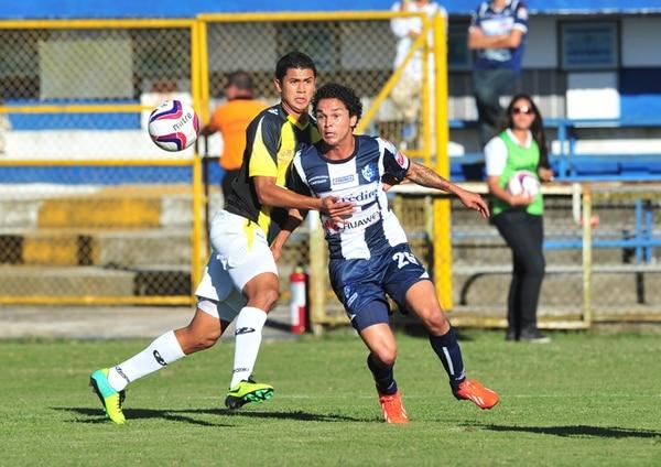 Kevin Vega hizo los dos goles del último triunfo brumoso. | ARCHIVO