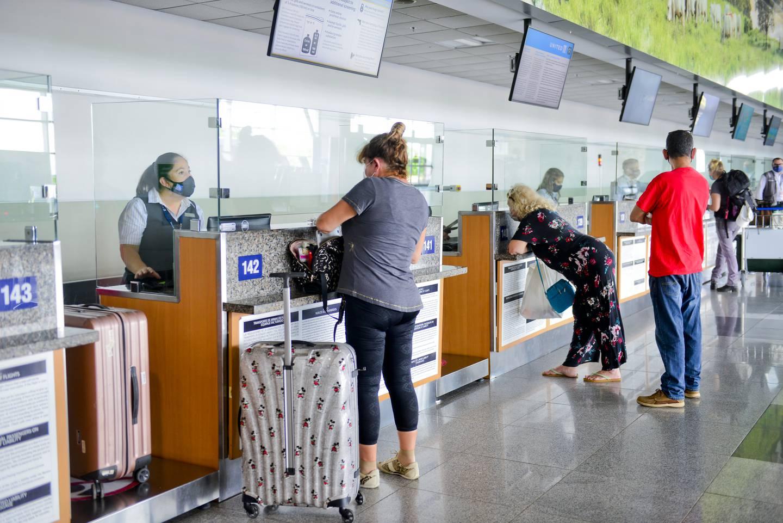 La empresa administradora del aeropuerto en Liberia, Coriport, espera un mayor repunte del tránsito en la terminal cuando se reactiven vuelos a Canadá y Europa. Foto: Cortesía