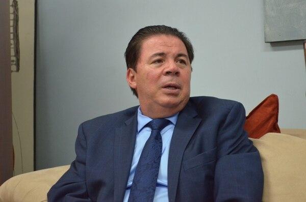 Julián Solano atendió este lunes a los medios de comunicación para referirse a los actos de violencia ocurridos fuera del estadio Fello Meza, previo al juego Cartaginés-Herediano.