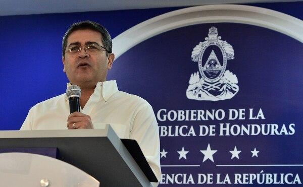 El presidente Juan Orlando Hernández se refirió este jueves 3 de octubre del 2019 a los señalamientos de la Fiscalía de Nueva York respecto a presuntos sobornos por parte del narcotráfico.